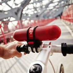 Beats Pill Bike Mount #tech #flow #gadget #gift #ideas #cool