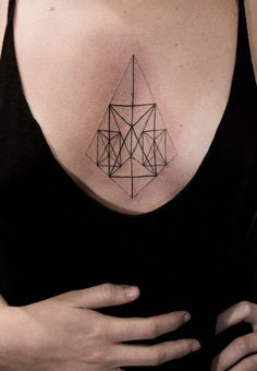 SOCIAL STRUCTURES MOVE TOWARDS INKING GEOMETRIC SYMBOLS ONTO THE SKIN. #lines #symmetry #tattoo #geometry