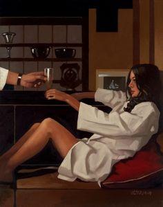 Man of Mystery – Jack Vettriano #jack #vettriano #painting