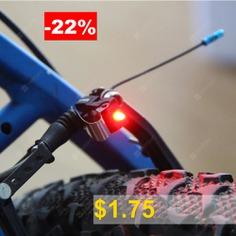 Bike #Brake #Light #Bicycle #Tail #LED #Warning #Lamp #- #BLACK