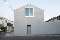 House House by Ryuji Fujimura #modern #design #minimalism #minimal #leibal #minimalist
