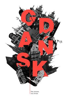 Gdansk Poster #poland #type #poster