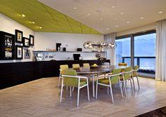 Luxurious One Bedroom Loft Style Space by COORDINATION - #kitchen, #kitchendesign, #kitchenideas, kitchen design