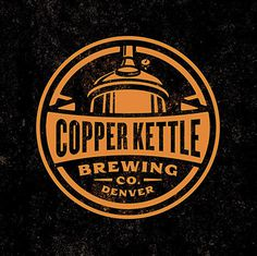 Copper Kettle Brewing Logo #packaging #brew #stout #crest