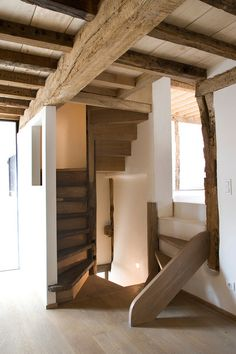 CJWHO ™ (Sint Martinus by LensAss Architects) #design #interiors #wood #photography #architecture #stairs #luxury