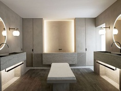 The Bath Salon by Nicolas Schuybroek Architects