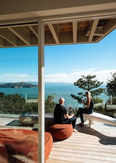 Sausalito Residence is Like a Sophisticated Library of Vinyl Records and Design Books 18