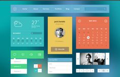 Modern Touch – Flat UI Kit