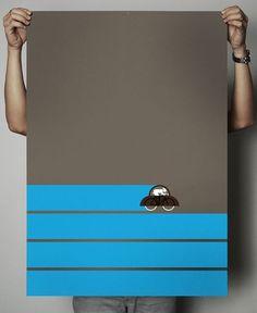 Baubauhaus. #graphic design #illustration #poster #bike #movement