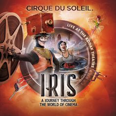 IRIS Cirque du Soleil on Behance #cirque #circus #poster