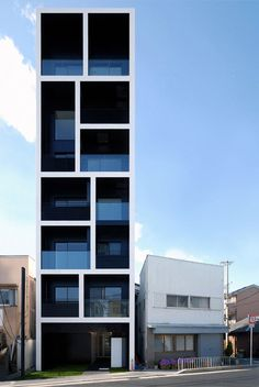 Apartment in Katayama by Mitsutomo Matsunami #mitsutomo #apartment #architecture #matsunami