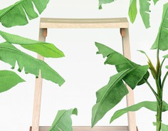 #Nuclistudio   #RAIL high stool designed for Tailim furniture
