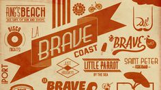 La Brave Coast on Behance
