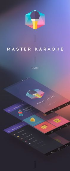 Karaoke Master for Android on Behance #ui