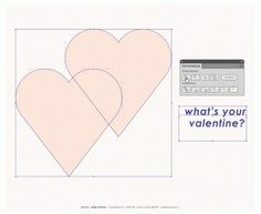 Arc & Co. | Multi-Disciplinary Design Studio #valentines #vector #poster #hearts #day