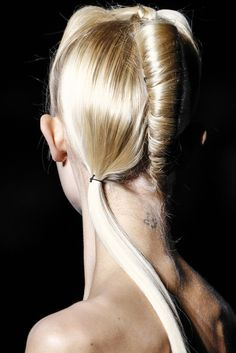 MOONMUD #hair #blonde #braid