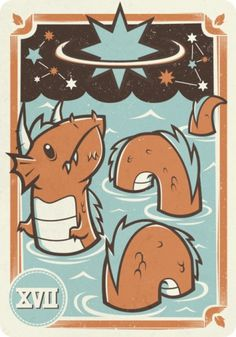 Omnitarian : 1 of 8 #illustration #card #tarot #inkscape