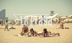 WANKEN - The Blog of Shelby White » EF Language School Commercials #typography #beach #girls