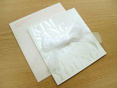 wedding invitation : d note #wedding #invitation #typography