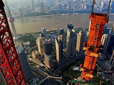Stunning Aerial Photos of Shanghai 7 #shanghai #photography