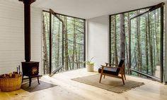 Tiny Blackened Timber Cabin 6