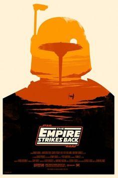 British Artist Redesigns \'Star Wars\' Posters - DesignTAXI.com
