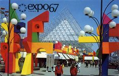 La Ronde at Expo '67 Montreal, Quebec | Flickr Photo Sharing! #expo #montreal #world #fair #la #67 #ronde