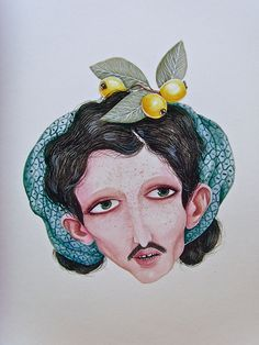 Nestor Jr / Watercolour // #painting #art #watercolor #illustration