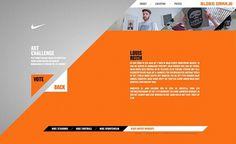 Nike - Bloed Oranje on the Behance Network