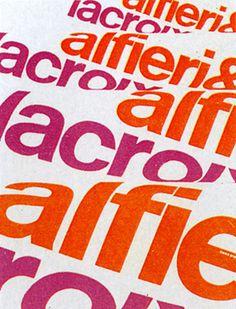 Franco Grignani — Alfieri & Lacroix (1950) #1950 #lacroix #grignani #alfieri #franco