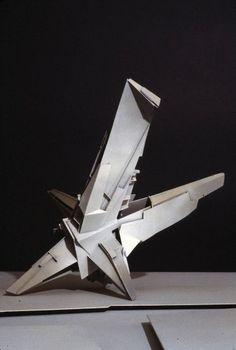 BLDGBLOG: Star Wheel Horizon #architecture #abstract #model #lebbeus woods
