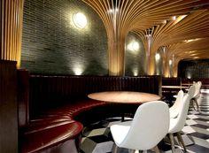 New Trendy Restaurant & Bar by CAA - #bar, #restaurant, #restaurantdesign, architecture