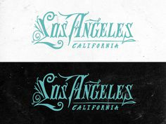 Los Angeles Type #logo