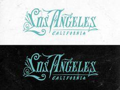 Los Angeles Type #logo