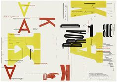 letterpress, bold, yellow, poster, red, condensed, type, typography, composition