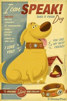 FFFFOUND! | dug.jpg (image) #character #dog