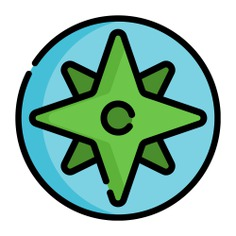 See more icon inspiration related to compass, maps and location, Tools and utensils, wind rose, cardinal points, navigation, orientation, direction, location and gps on Flaticon.
