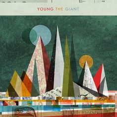 Invisible Creature Speaks » New Work #album #young #giant #the #cover #artwork #invisible #creature