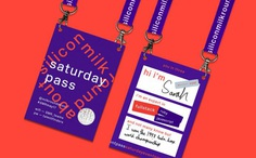 Silicon Milkroundabout lanyard by Onwards