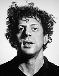 philipglass120206_560.jpg (560×720) #portrait #chuck close #philip glass