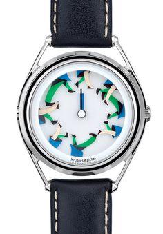 Mr Jones Watches #walking #illustration #watch