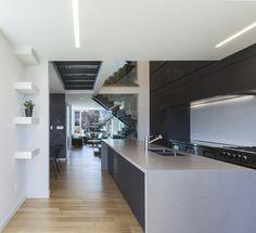 Instar House: Minimalist Three-Storey Home by Atelier RZLBD 3
