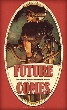 future comes girl no. 8 #fi #illustration #sci #girl