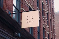 Lotta Nieminen | Paintbox #paintbox #branding #sign #signage #logo