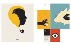 The Modernist: Graphic Design's Mid-Century Muse #postres