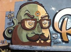 The Yok #spray #graffiti #city #mustache #the #yok #paint #art #street #york #character #new