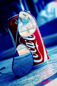 Coca Cola Summer #coca cola #reflection #sunglasses