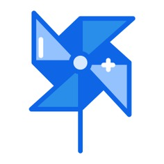 See more icon inspiration related to wind, toy, mill, pinwheel, kid and baby, windmill and nature on Flaticon.