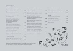 #menu #identity #design #print #food