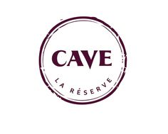 Logo for Cave wine bar, Conrad Hotel, Dubai, UAE #logo #wine #stamp #wine stain #stain